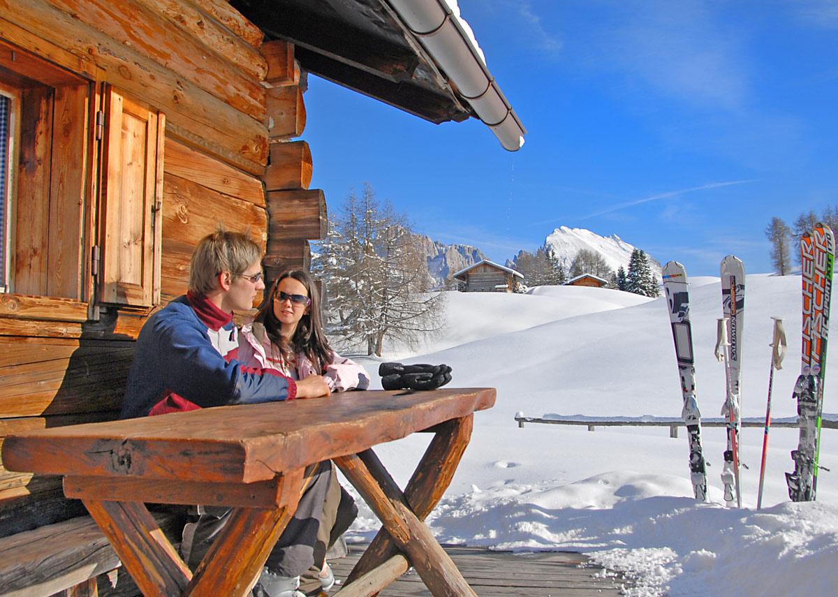 Skifahren-Seiseralm-Schlern
