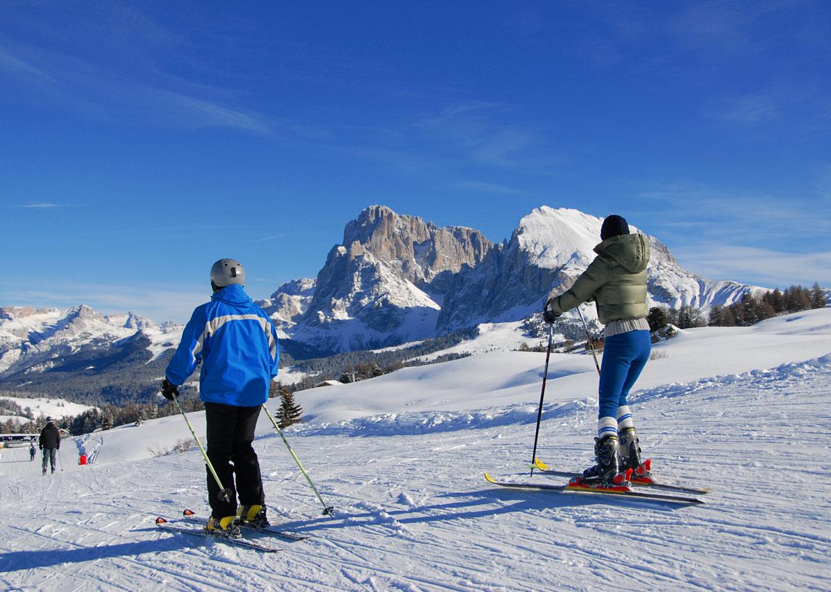 Skifahren-Seiseralm
