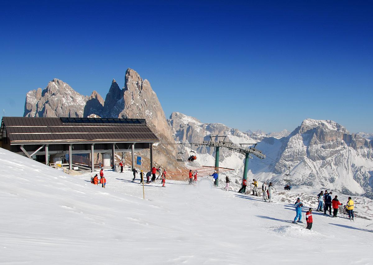 Skigebiet Gröden