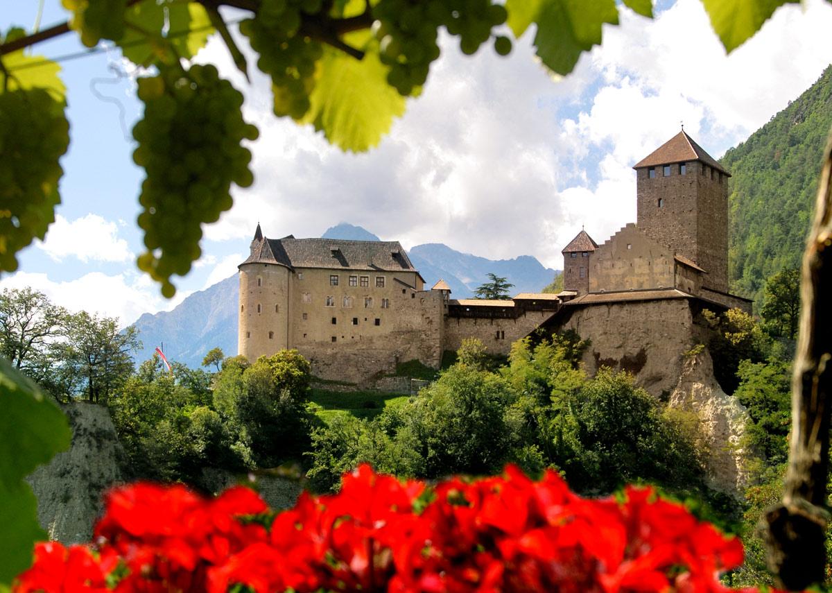 Bild Schloss Tirol Panorama
