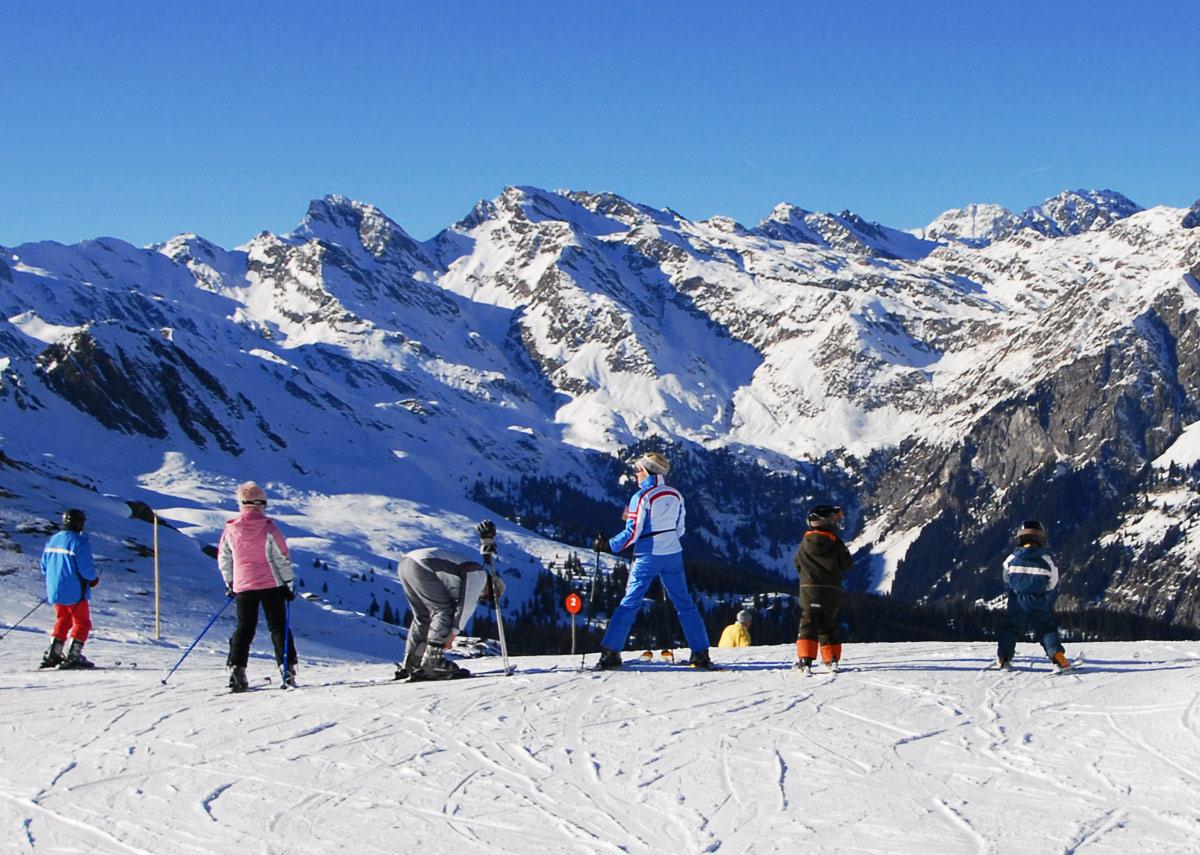 Skigebiet  Jochtal - Vals