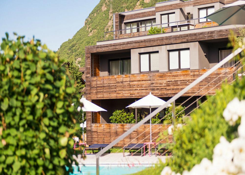 Design hotel tyrol urlaub s dtirol for Meran design hotel