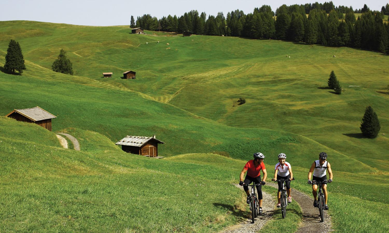 Hotel Hubertus, Villanders, mountainbiken